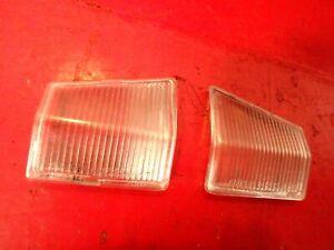 01-05 3 BMW SERIES E46 330I REAR BACK TRUNK LIGHT LAMP LENS COVER LEFT RIGHT SET