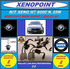 KIT XENON XENO H7 SLIM CAN BUS 3.0 12V/35W 6000K AC BMW SERIE 3 E90-91-92 LED_