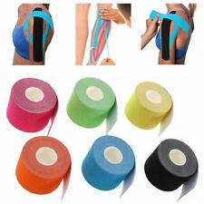 6x 5M Kinesiologie Tape Kinesiology Sport Muskelschmerzen Pflege Elastic Kinesio