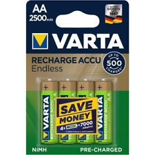 40 x AKKU VARTA Recharge Accus Endless 2500mAh AA Mignon - NEU Akkus 56686