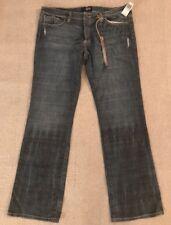 ANTIK Denim Mens Bronze 5 Pocket Lowrise Slim Jeans wEMBROIDERED MSRP $152 #C2
