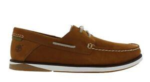 "Timberland Men's ""Atlantis Break"" Medium Red Boat Shoes Size 10 NIB"