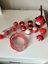 Red Nose Day 2017 - Comic Relief Set of 8 Noses Drinks Bottle, 2 X Boppers