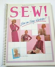 New listing The Stretch & Sew Sewing Book by Ann Person Vintage 1983 Knit Fabric