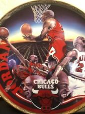 Michael Jordan plate  Sports Impressions Chicago Bulls Gold ED. /COA NEW