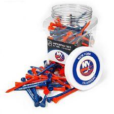 NEW YORK ISLANDERS Imprinted Golf Tees. Plastic Jar of 175 Imprinted Tees  NHL