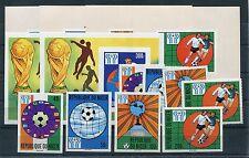 Niger 619/22 Block 20 A + B postfrisch + Sonderblöcke / Fußball ............1/84