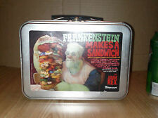 FRANKENSTEIN MAKES A SANDWICH Metal Tin Lunch Box Dracula Universal Monsters