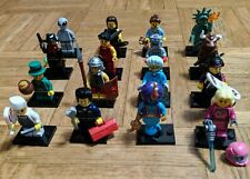 LEGO MINIFIGURES SERIE 6 COMPLETA-FULL 6 SERIES 16 MINIFIGS 8827