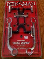 New in original package Reinsman Quick Change Horse Bit System  #984