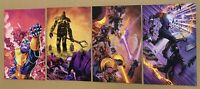 THANOS #13, 14, 16, & 17 Shaw VIRGIN Cover Variant SET Lot * GEMINI SHIPPING
