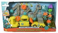 Fisher Price Octonauts Ultimate Octo-Repair Vehicle Set 3 Figures + 3 Vehicles