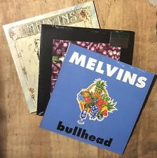 The Melvins - Vinyl - 3 Records - Bullhead - Ozma - Eggnog + Lice All - Sludge
