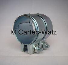 Connecteur de tuyau d'échappement / COLLIER DOUBLE 63 x 70 mm BMW , mini
