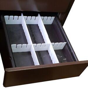 20 Stück Schubladenteiler Schubladeneinteiler Schubladen Einteiler zuschneidbar