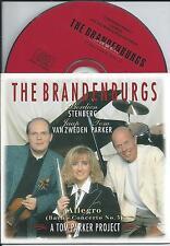 BRANDENBURGS, Berdien Stenberg Tom Parker CD SINGLE 2TR Cardsleeve 1995 RARE!!