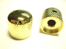 göldo Dome Speed Knob, Poti-Knob GOLD with black Marker Dot