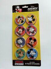 Disney Mickey The True Original 8 Foam Stickers