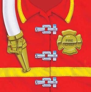 Firefighter Fire Fighter Hero Responder Birthday Party Paper Beverage Napkins