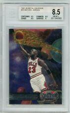 Michael Jordan 1997-98 Metal Universe #23 BGS 8.5
