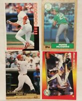 Pre-owned ~ Mark McGwire Baseball Card Lot of 4 (1998, 1987, 1992, 2000)