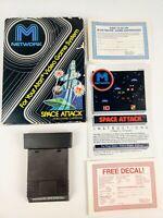 Vintage Space Attack network Atari 2600 CIB box game manual inserts