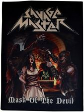 Savage Master-Mask of the Devil [large printed backpatch]