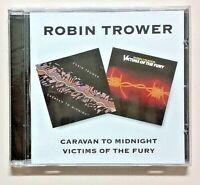 Robin Trower New BGO Import CD BGOCD352 Caravan To Midnight/Victims Of The Fury