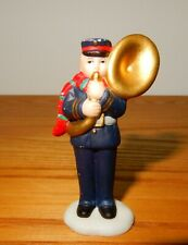 Vtg Lefton Japan Good Samaritan Society marching band horn ceramic figurine