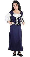 Girls Maid Marian Marion Medieval Tudor Fancy Dress Costume Large CC906