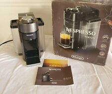 Nespresso Vertuo Coffee & Espresso Machine by De'Longhi Graphite Metal ENV135GY