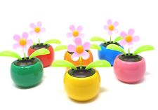 New Solar Powered Dancing Flip Flap ~ Daisy Assorted Qty 1 ~ Picked at Random