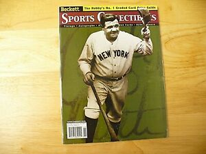 "Beckett Sports Collectibles Magazine - ""Babe Ruth"" - November 1999 - NICE"