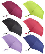 Fulton Black Navy Wine Neon Pink Lime Lilac Soho-1 Compact Umbrella Brolly