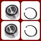 Front Wheel Hub Bearing Wsnap For Ford C-max Escape Focus Left Right Pair New