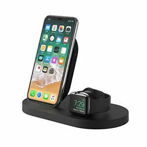 Belkin Boost Up Wireless Charging Dock (Apple Charging Station for Iphone +