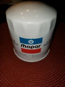 MOPAR NOS RED,WHITE, & BLUE OIL FILTER 3549957