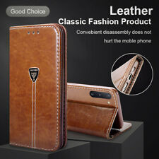 Magnetic Leather Flip Wallet Case Cover for Samsung Galaxy Note 10 Plus 9 8 5 4