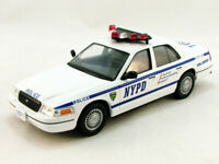 Ford Crown Victoria NYPD Police Interceptor 1998 Year 1/43 Scale Diecast Model