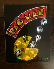 Vtg 1980's *SUPER RARE* Pac-Man Atari Promo Vending Machine Prism Sticker 80's!