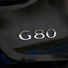OEM Genuine Parts G80 Logo Emblem Badge for HYUNDAI 2015 - 2018 Genesis G80