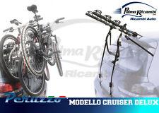 352 - PORTABICI POSTERIORE AUTO 3 BICI PERUZZO MODELLO CRUISER DELUX