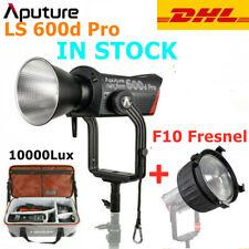 """Aputure LS 600d Pro 600W 5600K LED Video Light COB Daylight w"""" F10 Fresnel Lens"""