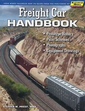 FREIGHT CAR HANDBOOK -- (Just Published 2018 NEW BOOK)