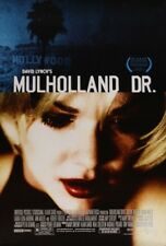 MULHOLLAND DR. DRIVE MOVIE POSTER 2 Sided ORIGINAL Ver B 27x40 LAURA HARRING