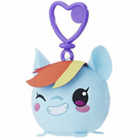 Hasbro My Little Pony The Movie Plush - RAINBOW DASH (Plastic Key Clip - 3.5 in)
