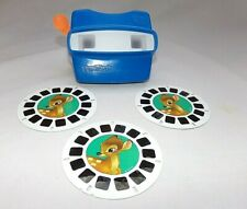 Viewmaster Viewer & Bambi 3D Viewmaster Reels/ (3) Discs Set 33060