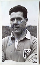 ALLAN BROWN BLACKPOOL LUTON SCOT 1950's SIGNED POSTCARD