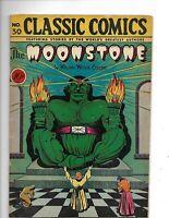"Classics Illustrated 30/HRN 30 G+ (2.5) 1st ed! ""Moonstone"" 9/46"