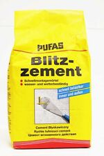 Pufas Blitzzement 5kg Schnellzement Zement